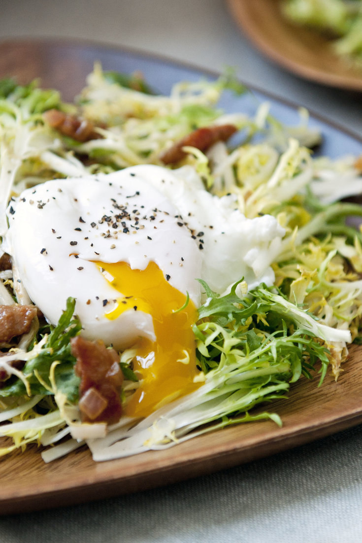 Frisee Salade Lyonnaise